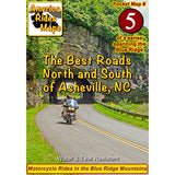 Map #5 -- The Best Rides North and South of Asheville, NC