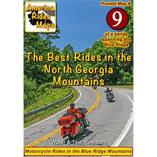Map #9 -- The Best Rides in the North Georgia Mountains