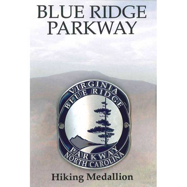 Blue Ridge Parkway Logo Hiking Medallion