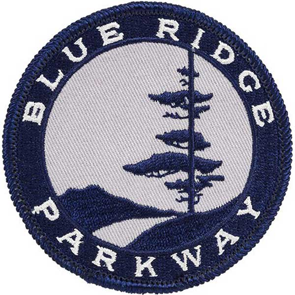 Blue Ridge Parkway Logo Patch