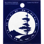 Blue Ridge Parkway Logo Sticker