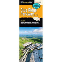 Blue Ridge Parkway Waterproof Tour Map