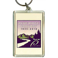 Blue Ridge Parkway 75th Anniversary Key Ring