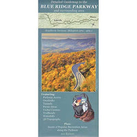 Detailed Guidemap to the Blue Ridge Parkway: Southern Section