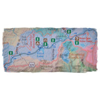 Detailed Guidemap to the Blue Ridge Parkway:  Gift Set