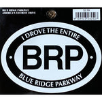 """I Drove the Entire Blue Ridge Parkway"" Sticker"