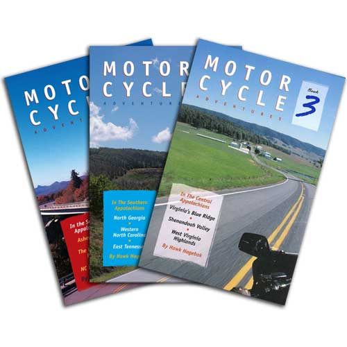 Motorcycle Adventures Book Set
