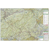 Great Smoky Mountains National Park Trails Illustrated Map