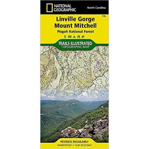 Linville Gorge / Mt. Mitchell Trails Illustrated Map
