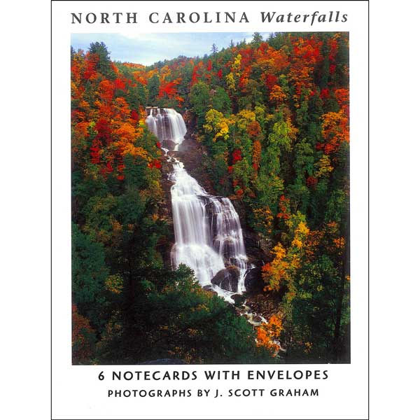 North Carolina Waterfalls Notecard Set by J. Scott Graham
