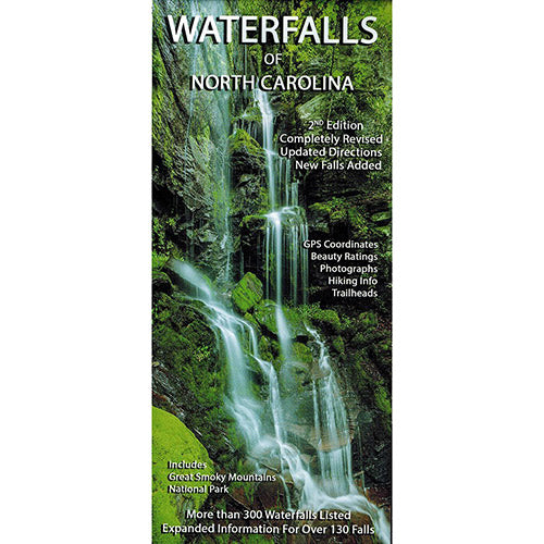 Waterfalls of North Carolina Map