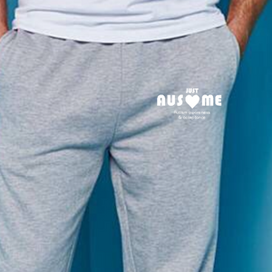 Adult Embroidery Cuffed Joggers