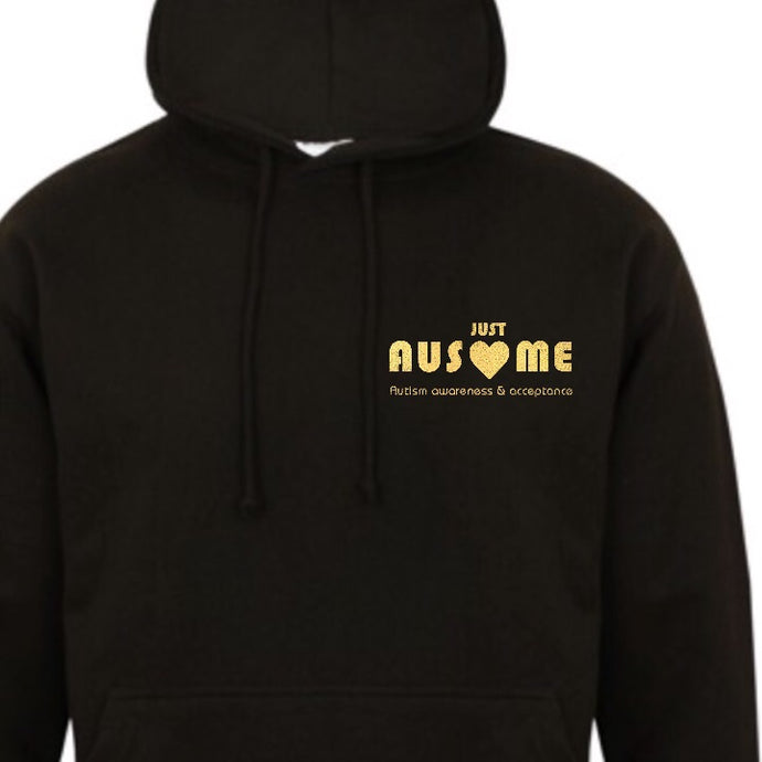 Limited Edition Black & Gold Pullover Hoodie