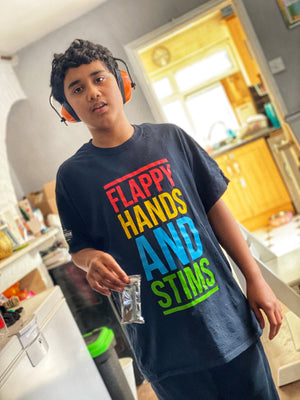 Flappy Hands And Stims t-shirt