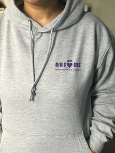 Ausome warrior Grey pullover