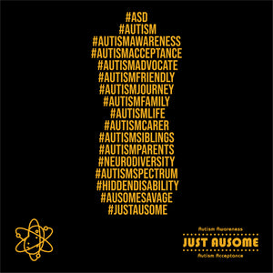 Limited edition Black and gold Zip hashtag hoodie