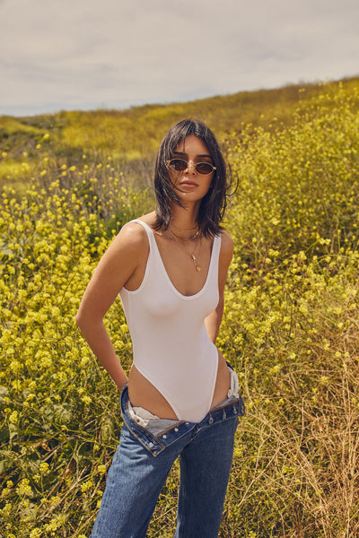 ESSENTIAL TANK BODYSUIT TOPS by KENDALL + KYLIE