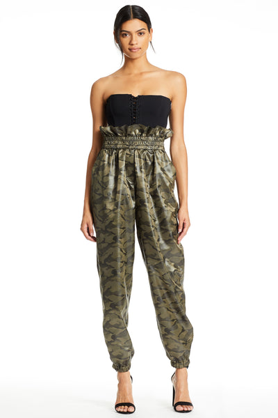PAPERBAG ARMY PANTS