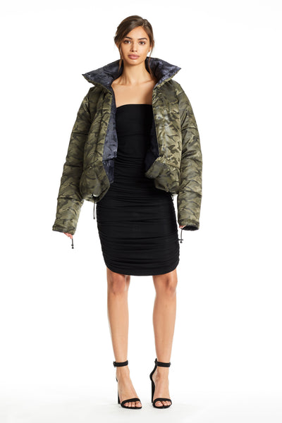 REVERSIBLE PUFFER JACKETS by KENDALL + KYLIE