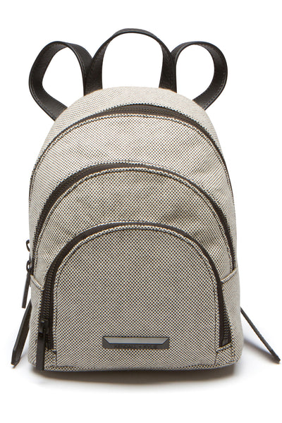 SLOANE MINI CANVAS BACKPACK