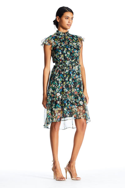 FLORAL MIDI DRESS DRESS by KENDALL + KYLIE