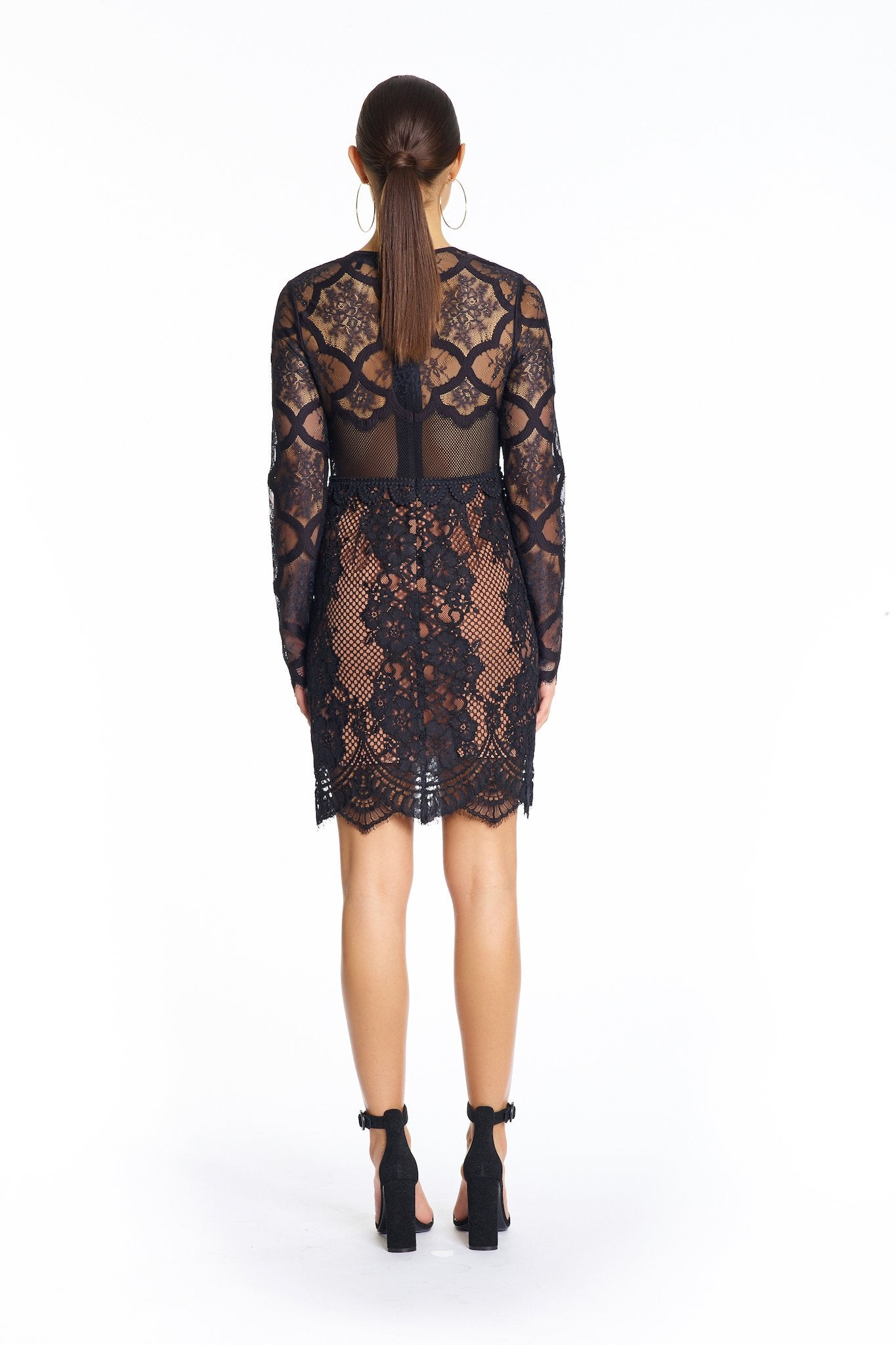 LACE DRESS DRESSES by KENDALL + KYLIE