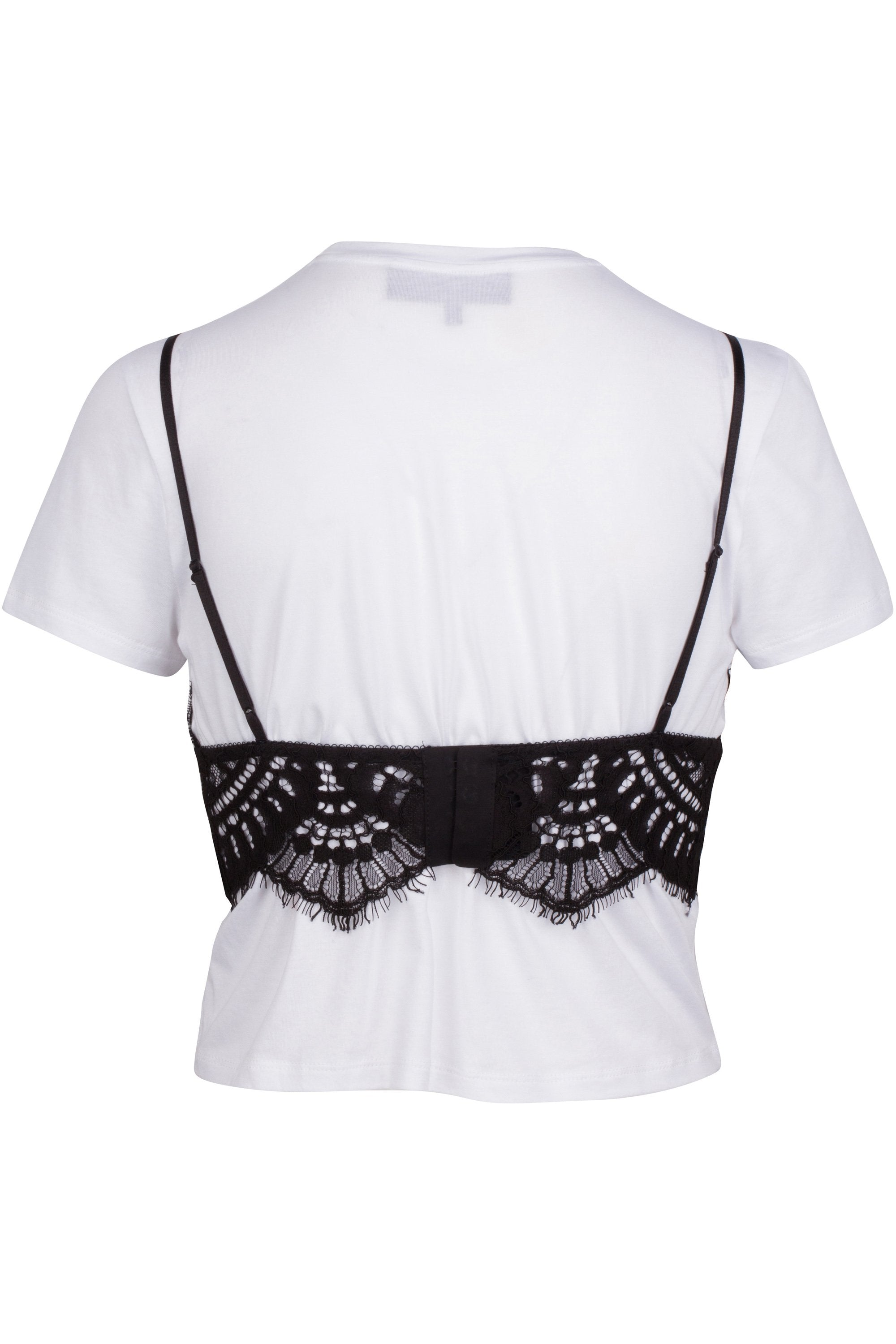 LACE CAMI TEE TOPS by KENDALL + KYLIE