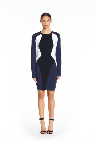 BODYCON ILLUSION DRESS