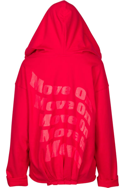 MOVE ON OVERSIZED HOODIE TOPS by KENDALL + KYLIE