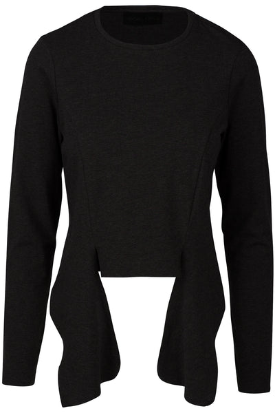 DRAPED PANEL LONG SLEEVE TEE TOPS by KENDALL + KYLIE