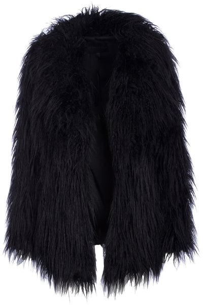 LONG-HAIR FUR COAT JACKETS by KENDALL + KYLIE