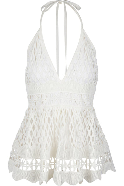 BABY DOLL CROCHET TOP