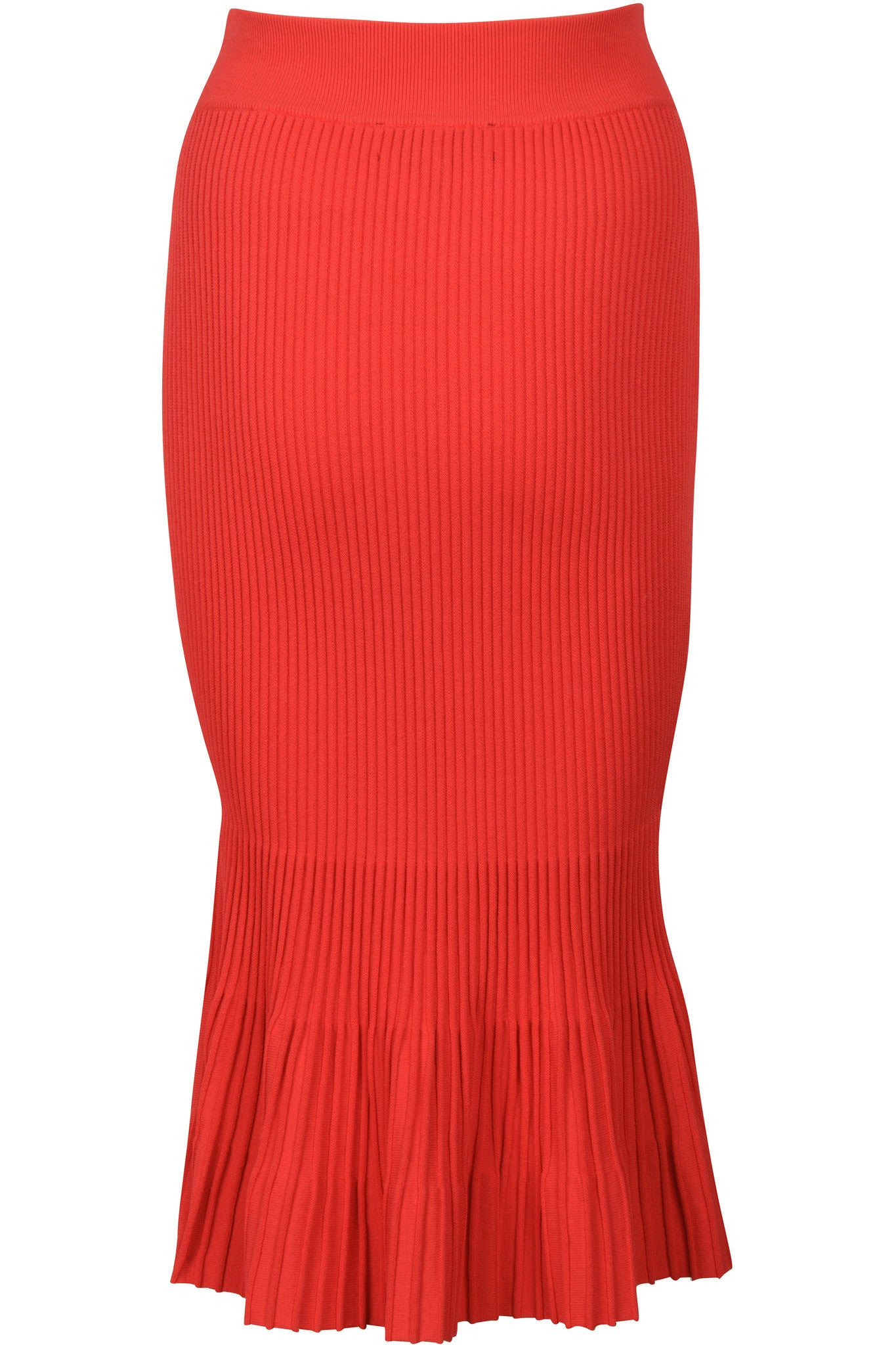 OTTOMAN MERMAID SKIRT RED SKIRTS by KENDALL + KYLIE