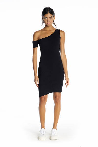 ASYMMETRIC ONE-SHOULDER DRESS DRESSES by KENDALL + KYLIE