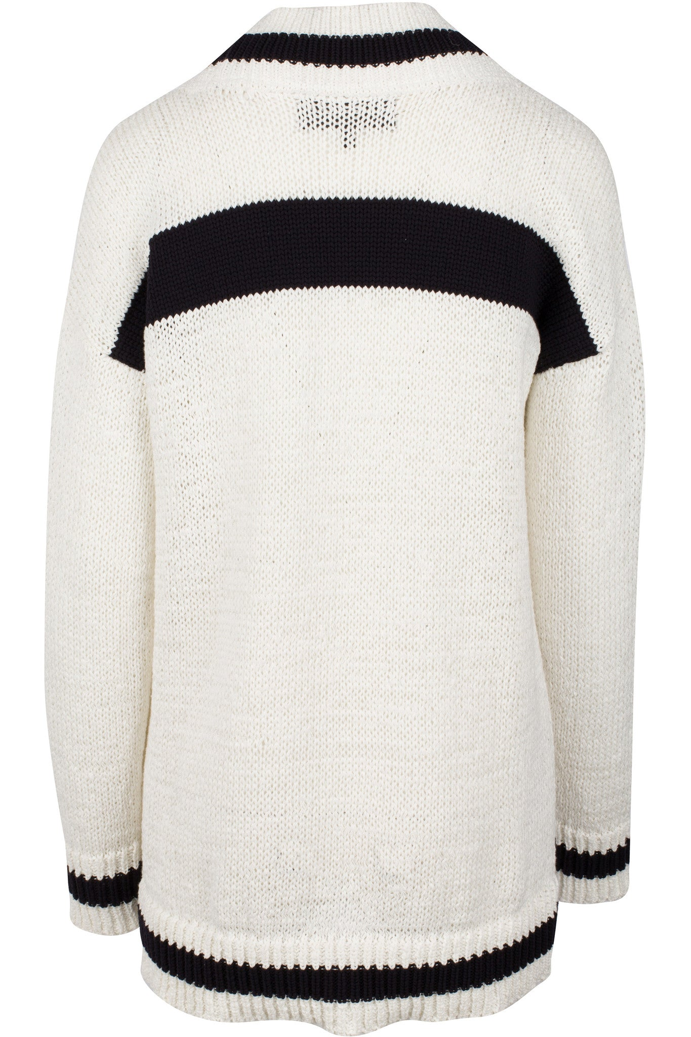 V-NECK RUGBY SWEATER TOPS by KENDALL + KYLIE
