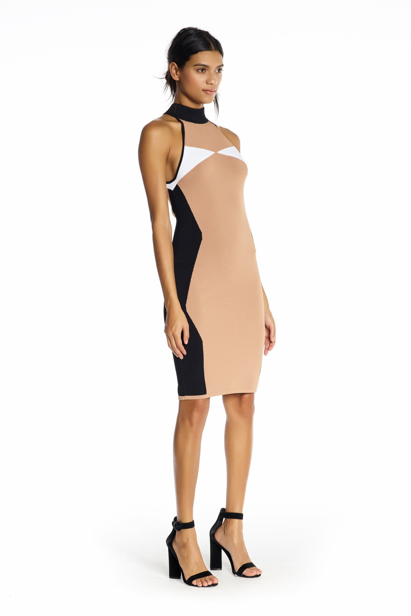 ILLUSION HALTER DRESS DRESSES by KENDALL + KYLIE