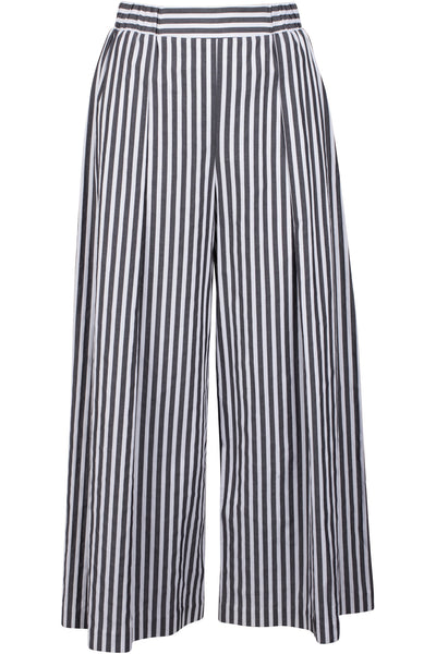 SHIRTING WIDE LEG PANTS