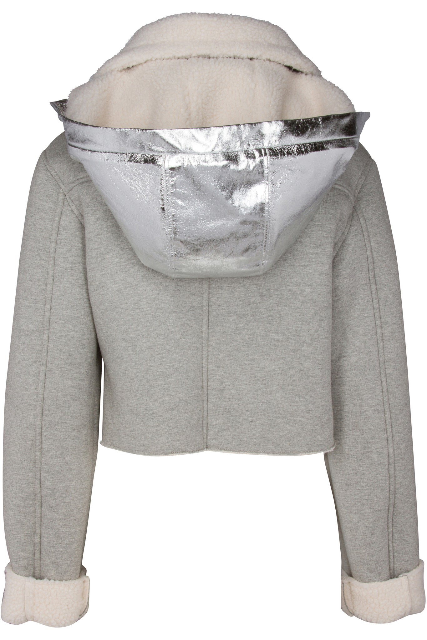 CROPPED FLEECE JACKET JACKETS by KENDALL + KYLIE