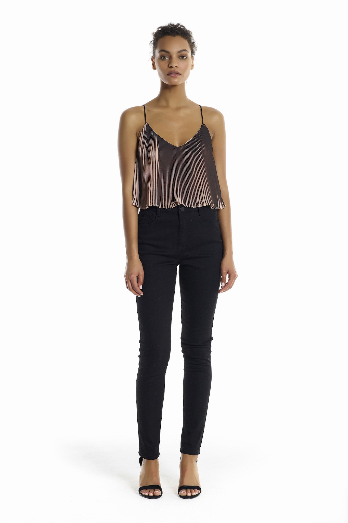 PLEATED TOP TOPS by KENDALL + KYLIE