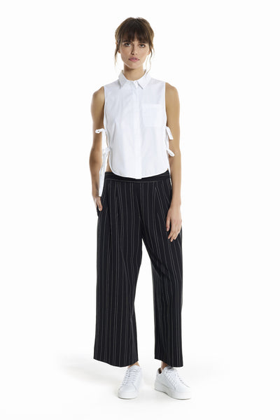 PINSTRIPE CULOTTES BOTTOMS by KENDALL + KYLIE