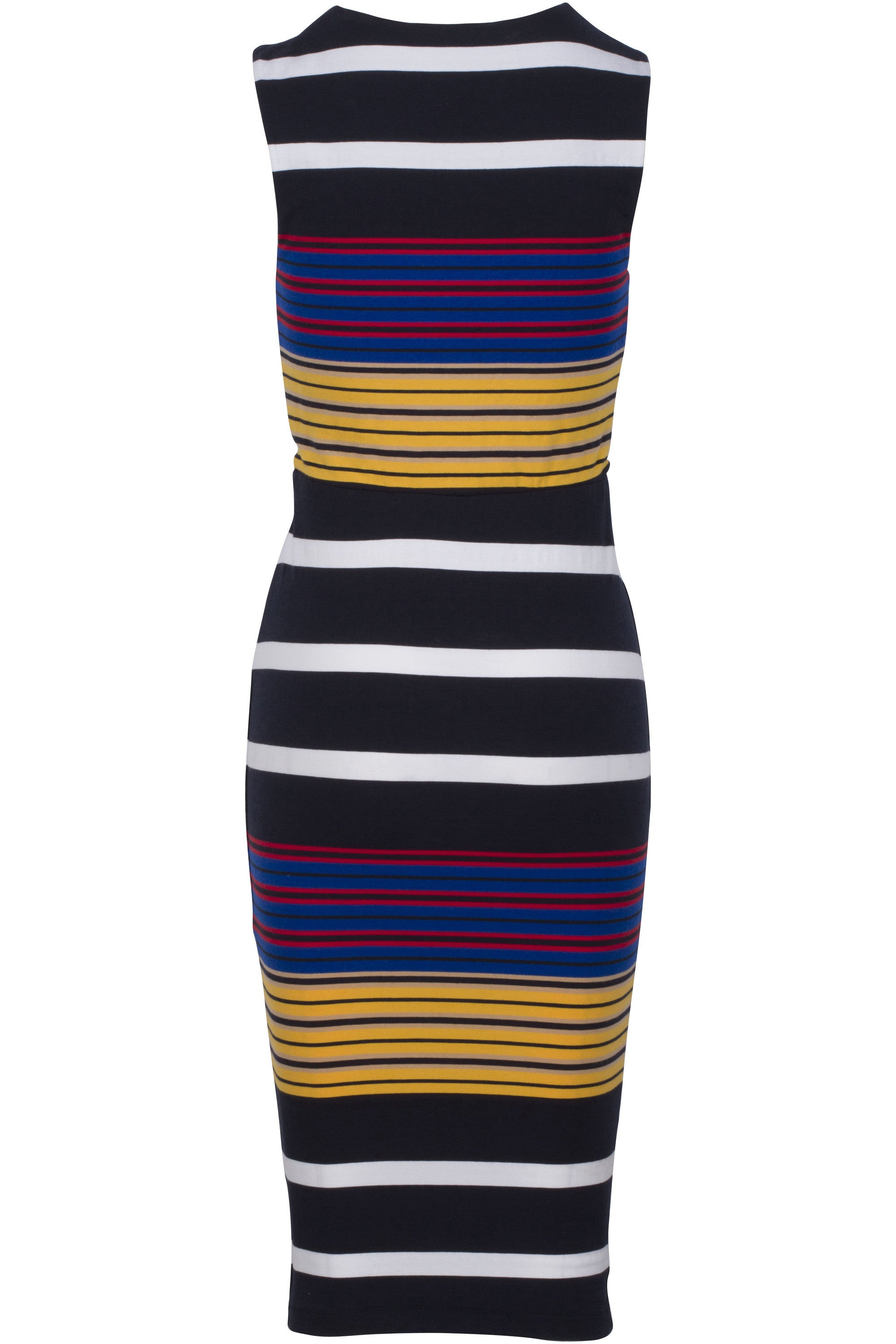 STRIPE COTTON BLEND DRESS DRESSES by KENDALL + KYLIE