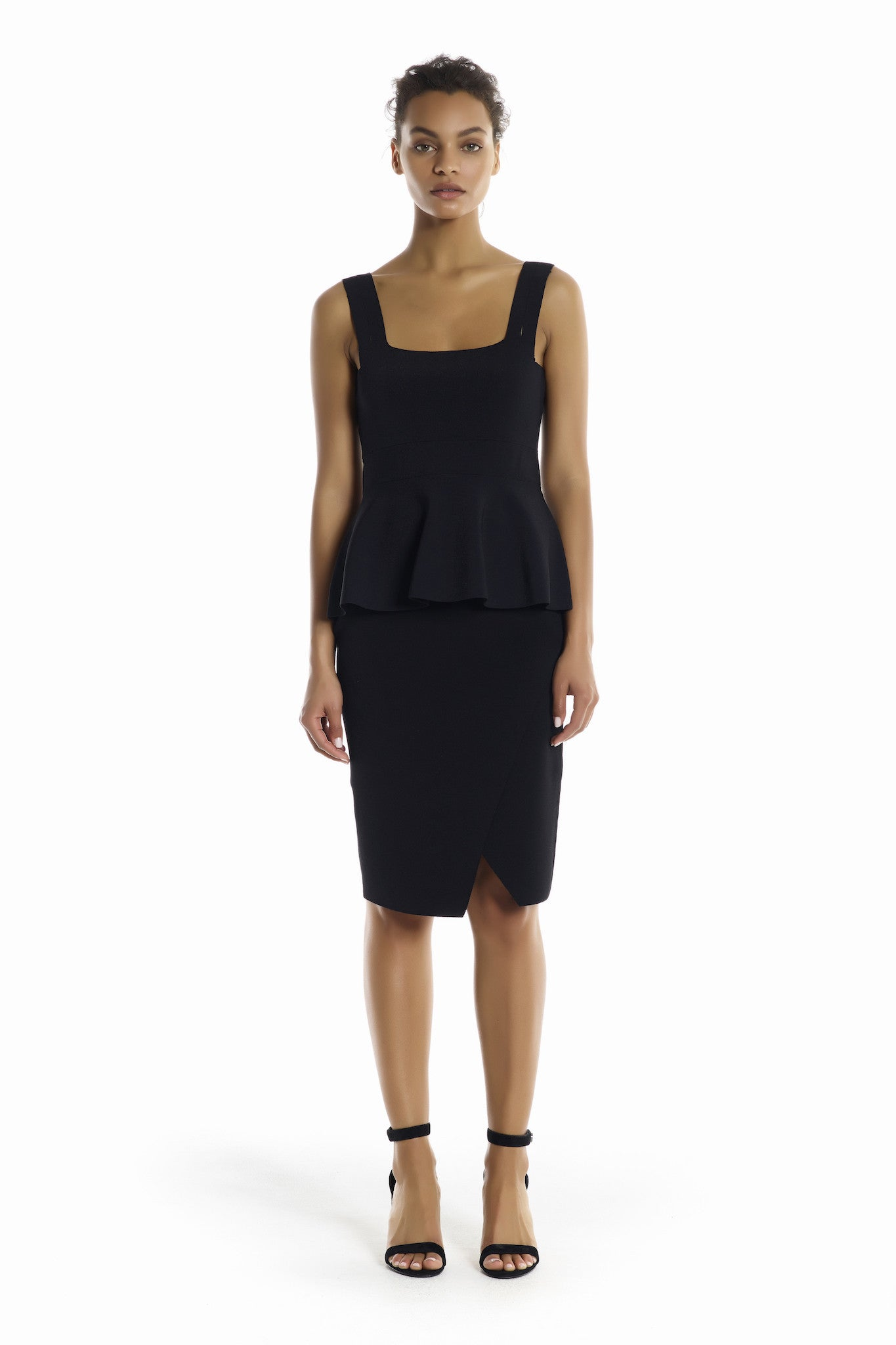 OVERLAP PENCIL SKIRT BOTTOMS by KENDALL + KYLIE