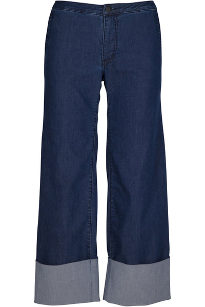 CHAMBRAY CUFF JEAN | Women's Clothing by Kendall and Kylie