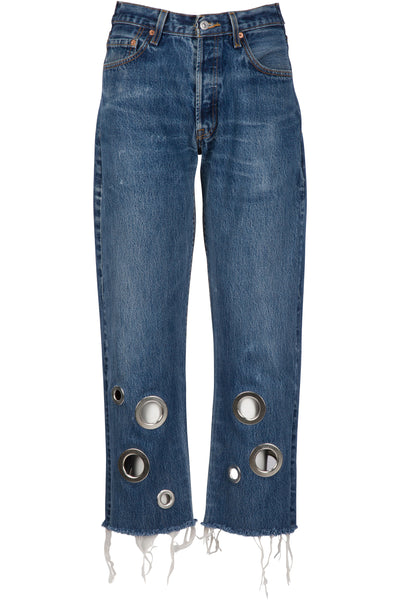 GROMMET VINTAGE JEAN by Kendall and Kylie