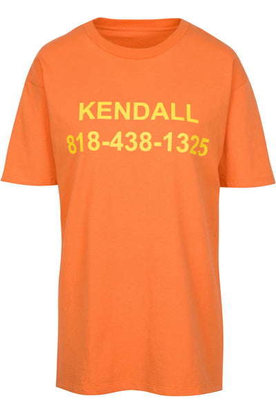 CALL ME KENDALL TEE by Kendall and Kylie