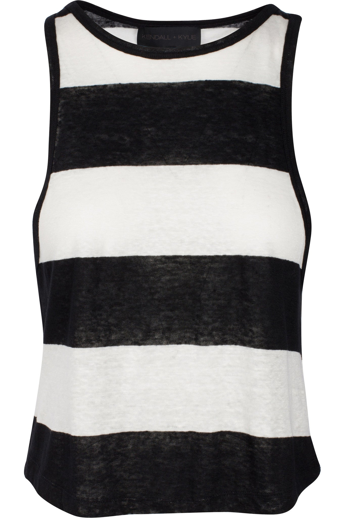 STRIPED LOW-CUT TANK TOPS by KENDALL + KYLIE