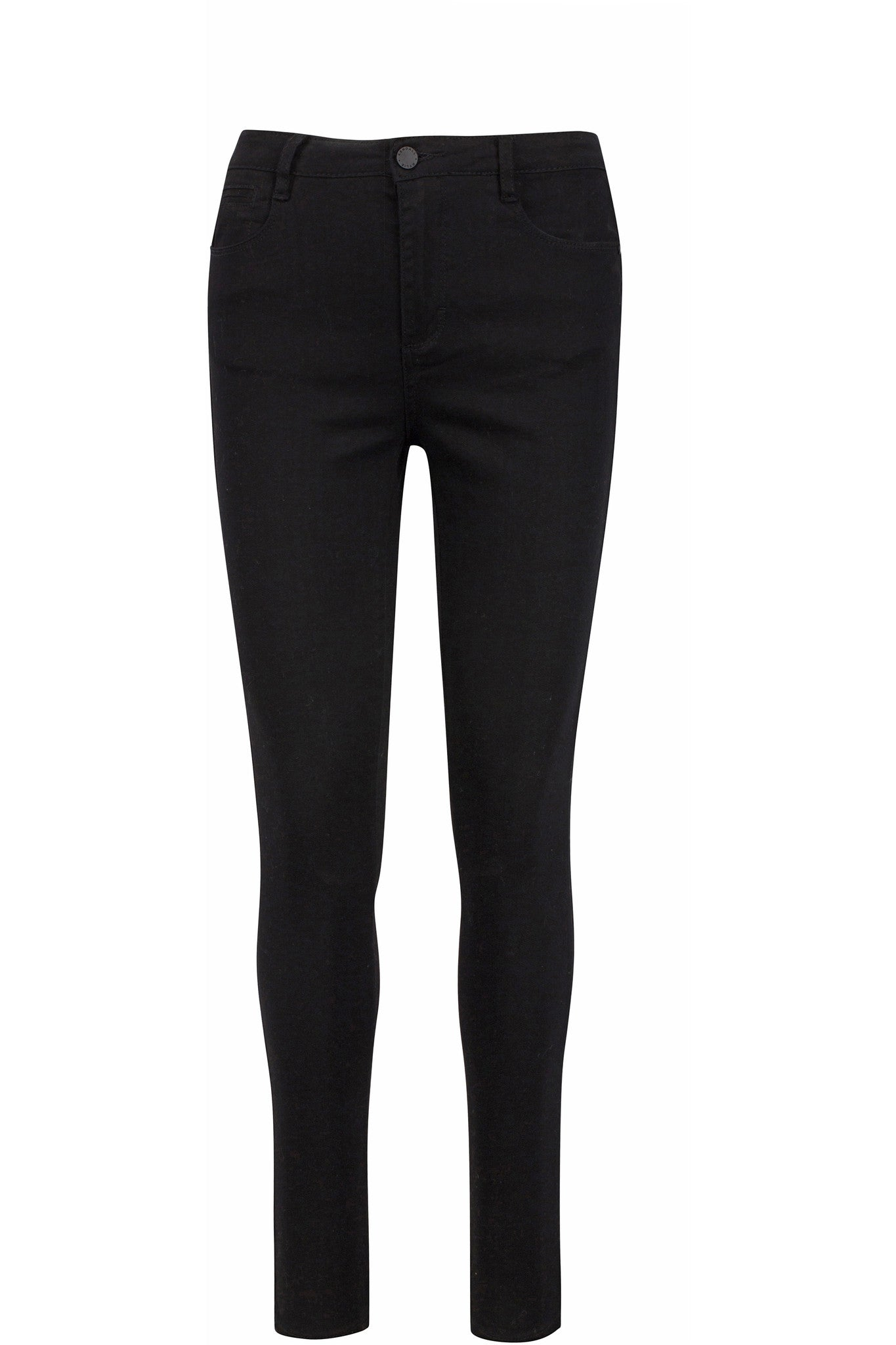 HIGH WAISTED SKINNY JEAN PANTS by KENDALL + KYLIE