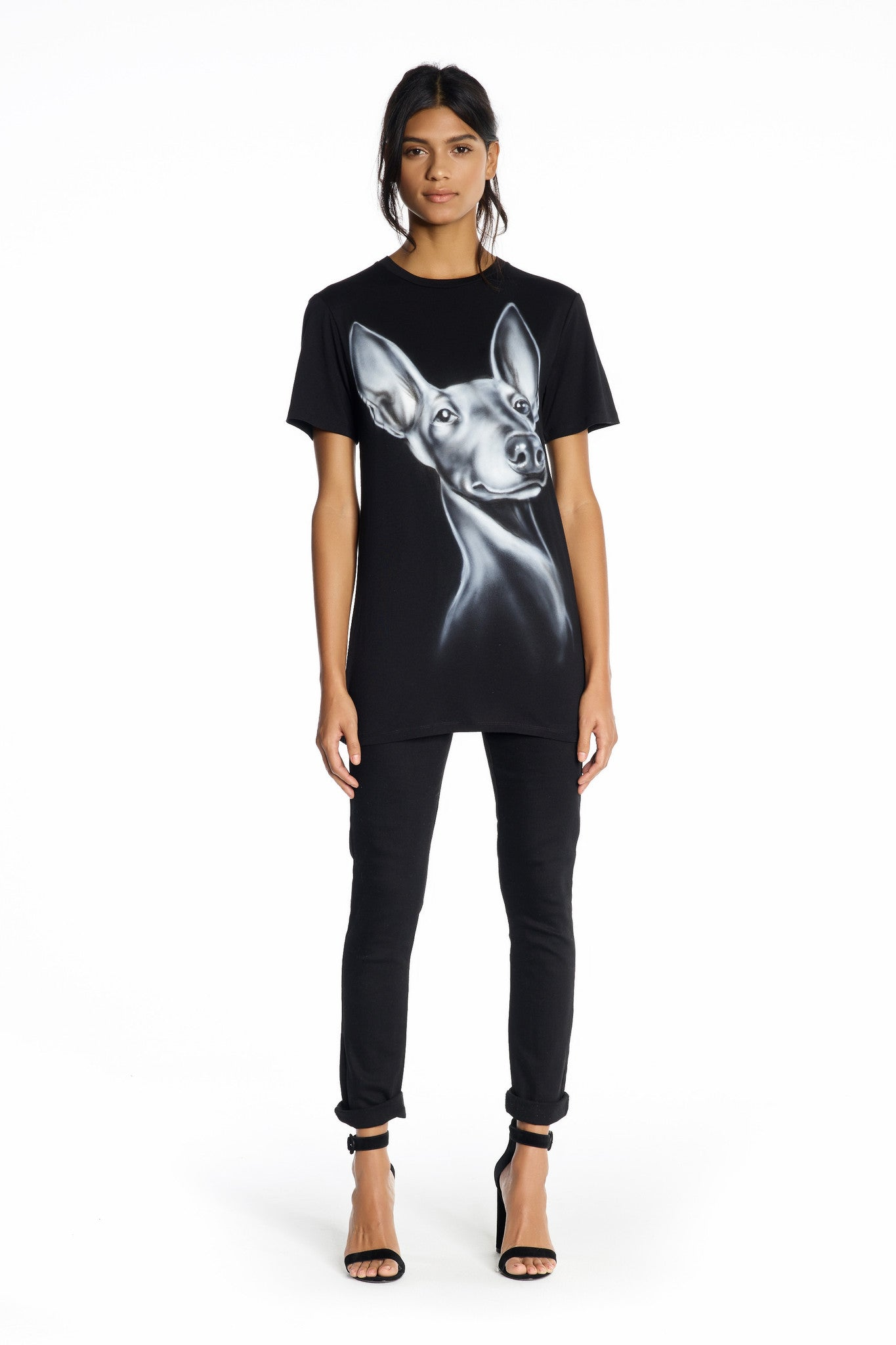 MAJESTIC NORMAN TEE TOPS by KENDALL + KYLIE