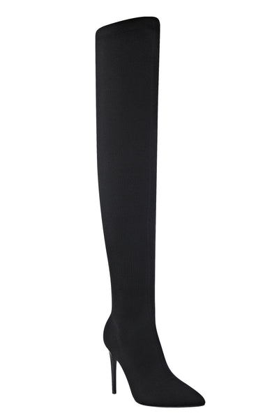 ANABEL KNIT OVER THE KNEE BOOT SHOES by KENDALL + KYLIE