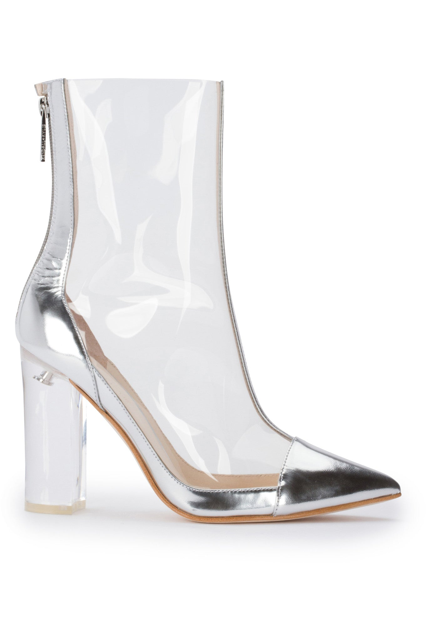 HAVEN LUCITE BOOTIE SHOES by KENDALL + KYLIE